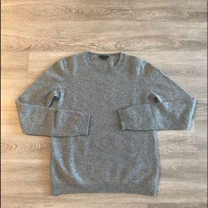 Theory Gray Cashmere Sweater